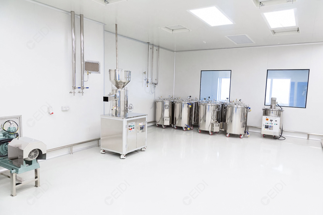 旭梅科技香精香料GMP洁净工厂及实验室项目