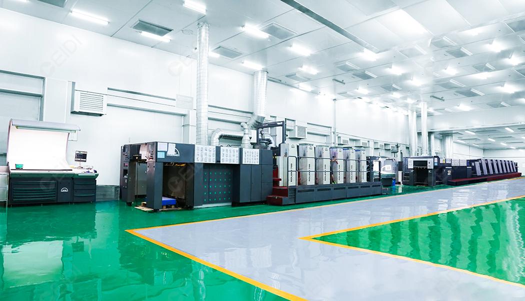 包装印刷厂十万级无尘车间设计装修 CEIDI西递
